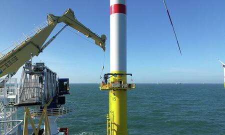 Operations with Senvion at Nordsee One windfarm
